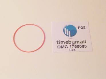 Red Omega Speedmaster 175.0083 Replacement Crystal Gasket | Watch Hands | Watch Straps and Bands | Watch Tools | Watch Glass and Crystals | Cleaning | Watch Parts | Vintage Watch Parts | Watch Batteries | Clock Parts